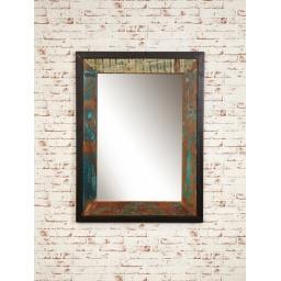 Urban Chic Mirror Large Hangs Landscape or Portrait