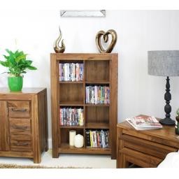 Mayan Open DVD CD Storage Cabinet