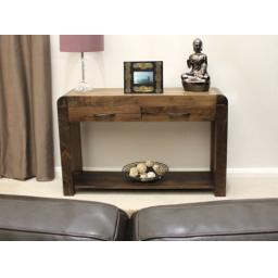 KikBuild Shiro Walnut Console Table
