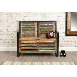 Urban Chic Storage Monks Bench