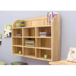 Mobel Oak Reversible Wall Rack