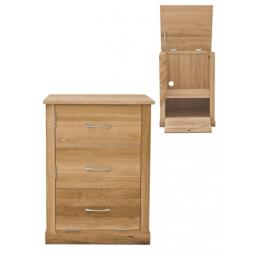 Mobel Oak Printer Cupboard and Cabinet