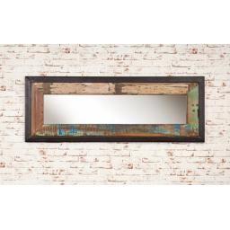 Urban Chic Mirror Medium Hangs Landscape or Portrait
