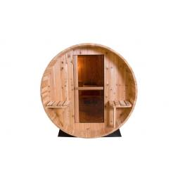KikBuild Fonteyn Rustic Barrel Sauna