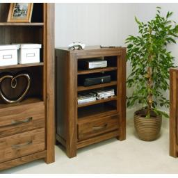 Mayan Walnut Entertainment Ancillaries Storage Cabinet