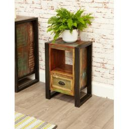 Urban Chic Lamp Table and Bedside Cabinet
