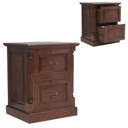 Cabinet La Roque Two Drawer Filing