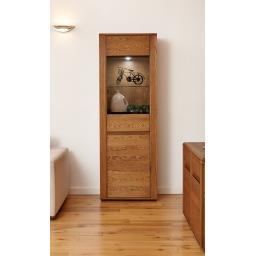 Olten Tall Display Cabinet Furniture