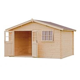Shed / Chalet Cabin Outdoor Living Products Anna 380 x 200 cm