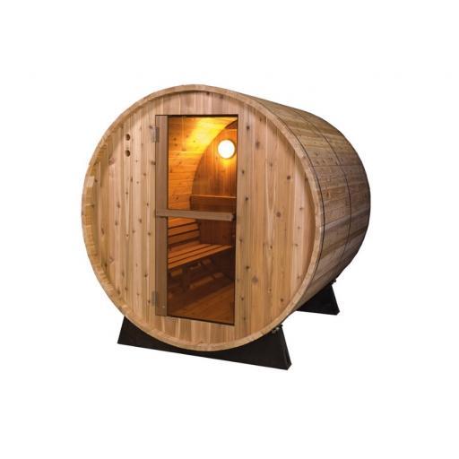 Barrel Rustic 6ft Sauna