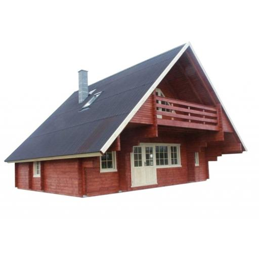 Kikbuild Cabin / shed Interflex Grand Chalet 94 mm Norway