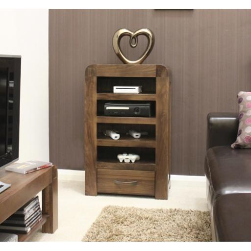 Shiro Walnut Entertainment Cabinet