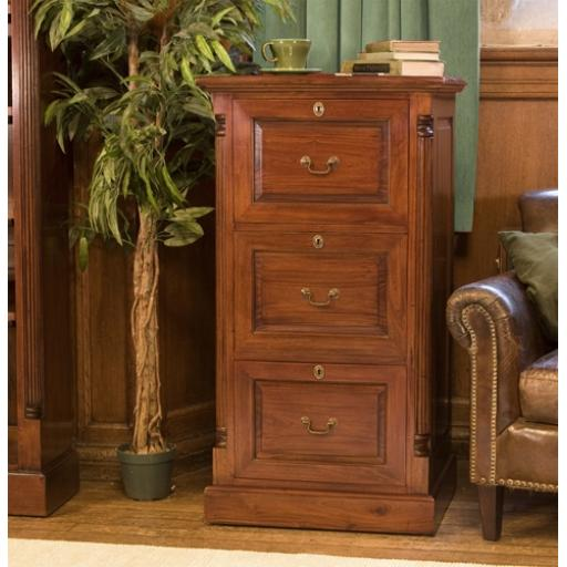 Filing Cabinet La Roque Three Drawer