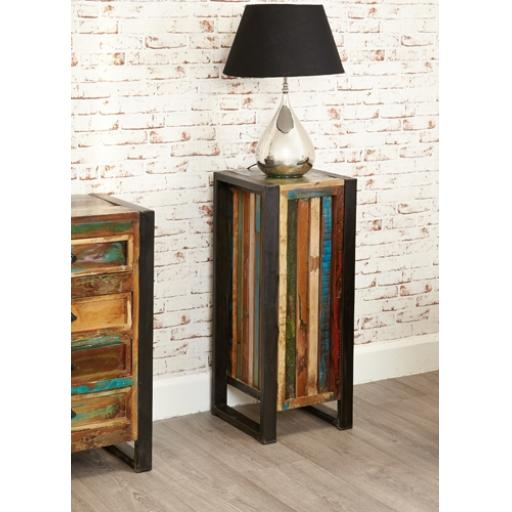 Urban Chic Tall Lamp Table or Plant Stand