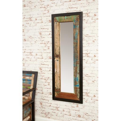 Urban Chic Mirror Medium Hangs Landscape or Portrait