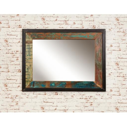 Urban Chic Mirror Large Hangs Landscape or Portrait