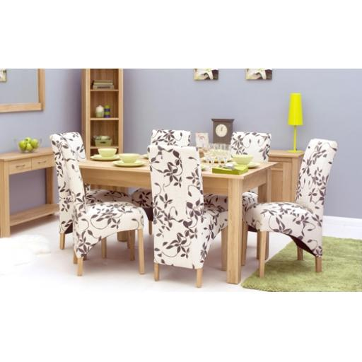 Mobel Oak 150cm Dining Table (4/6 Seater)