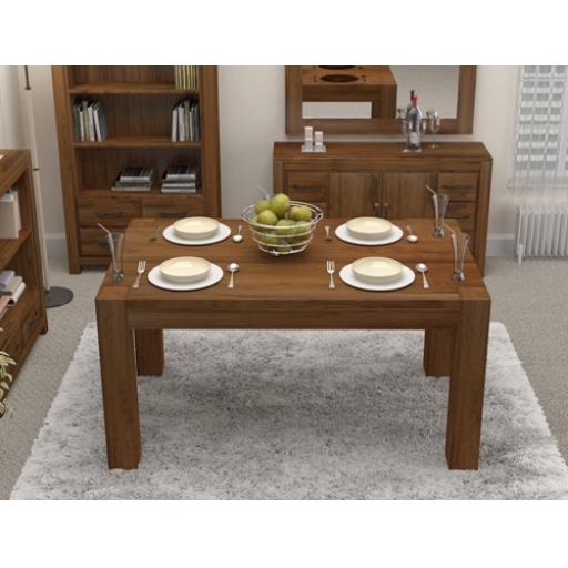 Walnut Large Dining Table Seats 6 to 8