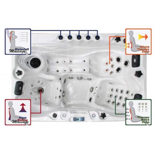 Sensation Spa_Sensation 3 Person Jacuzzi_KikBuild spa installation in Dorset