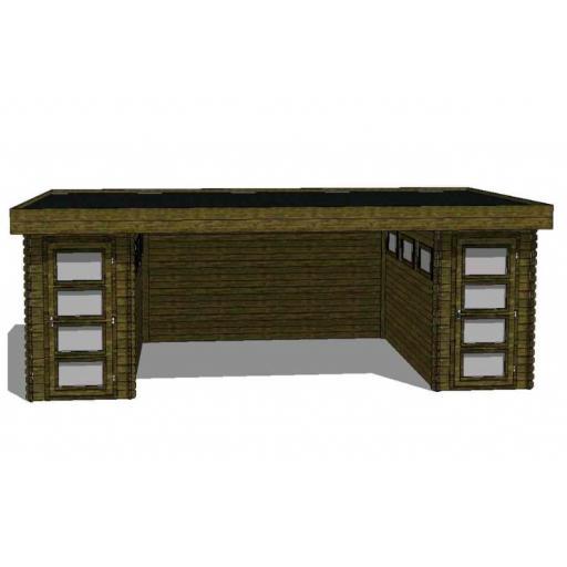 Kikbuild Summerhouse Module