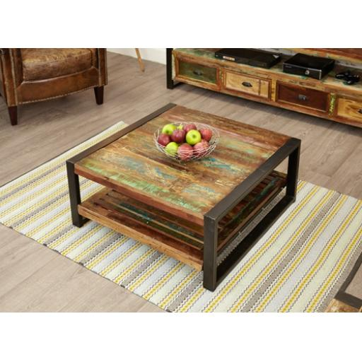 Urban Chic Square Coffee Table