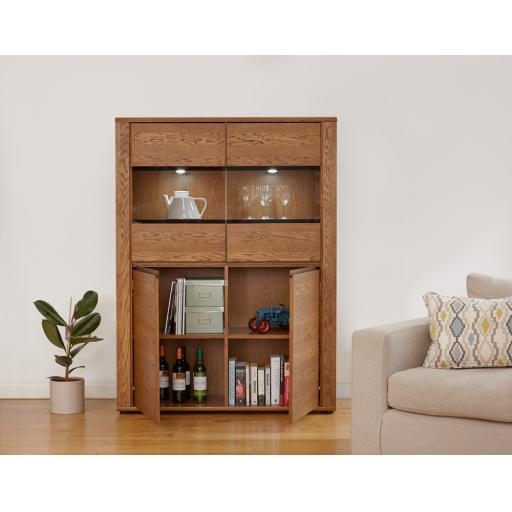 Olten Low Display Cabinet Furniture