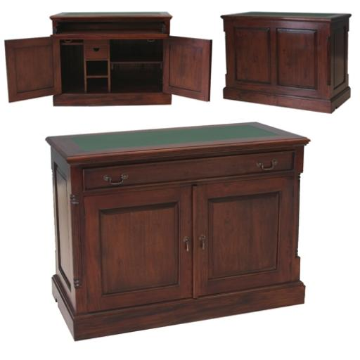 Mahogany Furniture La Roque Hidden Home Office