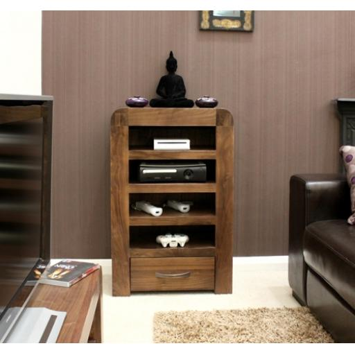 Shiro Walnut Entertainment Ancillary Cabinet