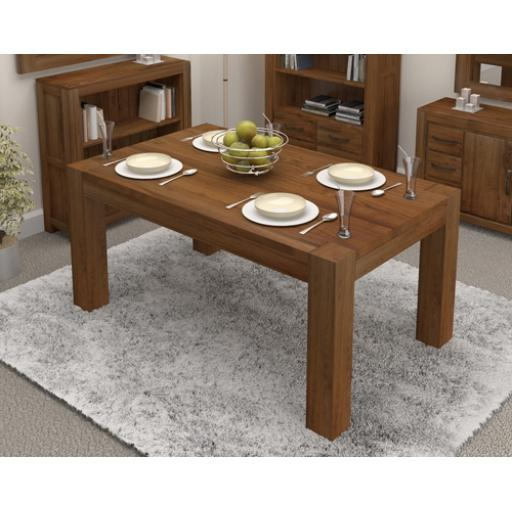 Dining Table Walnut 150 cm 4 to 6 Seater