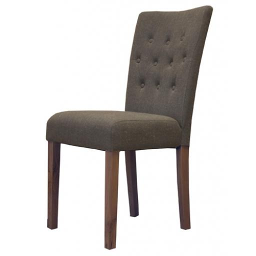 Slate Shade Flare back Upholstered Dining Chair