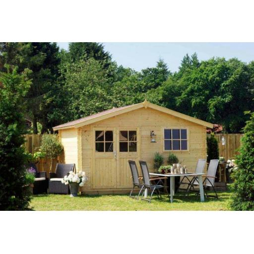 Shed / Chalet Log Cabin Outdoor Living Products Anna