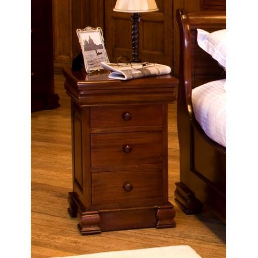 Lamp Table La Roque 4 Drawer Lit Bateau